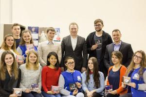 Встреча с Андреем Батуриным в Центральном штабе Движения Волонтеры Победы
